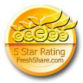 Fresh Share 5 Star Award