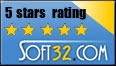 Soft32.com 5 Stars