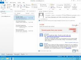 Exploring the awesome features of People Hub in Ms Outlook 2013