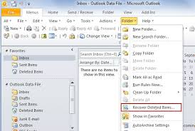 Learn to Recover Deleted Items from Outlook 2013