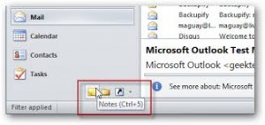 Quick tips to Work neatly with Notes in Ms Outlook