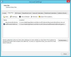 A Beginners guide to backing up your Outlook Data File