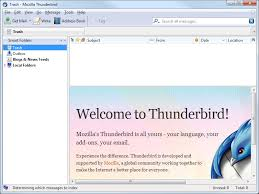 Is Thunderbird still a competition