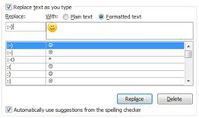 Quick tips to Include emoticons in Ms Outlook