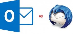 Thunderbird Compared to MS Outlook
