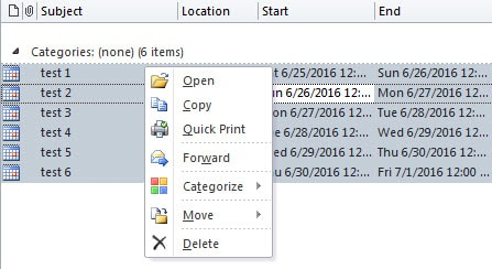 Delete Appointments in Batches
