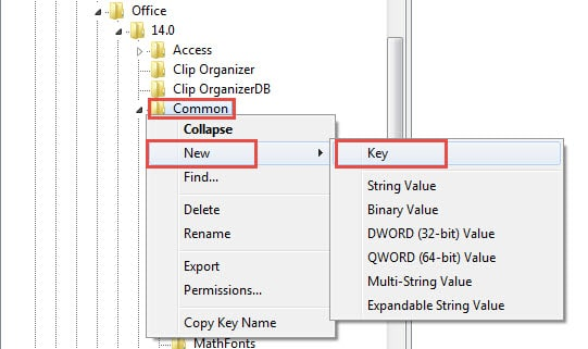 how to create a new or repair outlook 2016 profile
