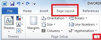 how to create a poster in word
