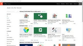 Excel Add-ins on Official Office Store