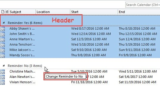 Birthday Calendar In Outlook : How to remove birthday reminders in batches from outlook