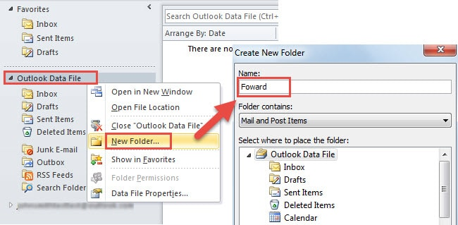 how to create an email foward rule in yahoo