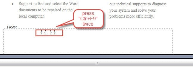 how to add numbers on a word document
