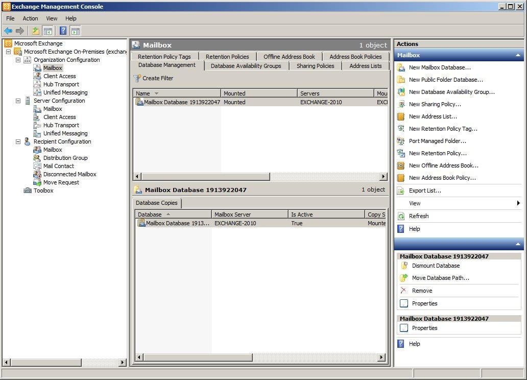 Organization Configuration