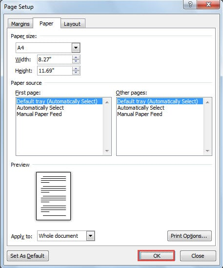 How To Print Word Documents With Background Colors Or