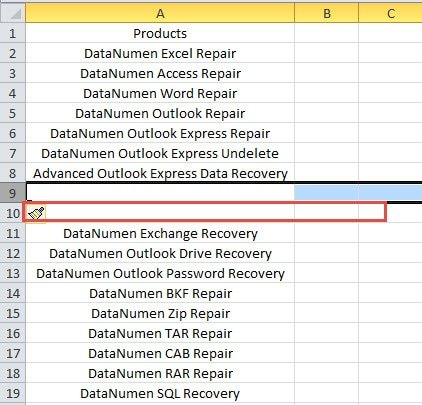 ... Multiple Rows or Columns into Your Worksheet - Data Recovery Blog