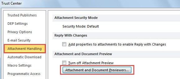 this file cannot be previewed outlook 2016 pdf
