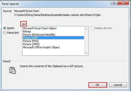 Choose Image Type