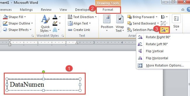 3 Different Methods to Rotate Text in Your Word Document ...