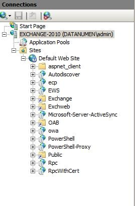 Virtual Directories In Microsoft Exchange