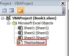 how to send an excel file when closed