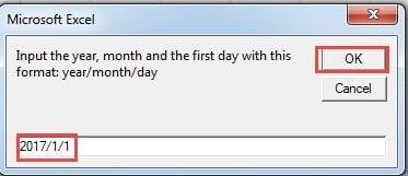 Input Date