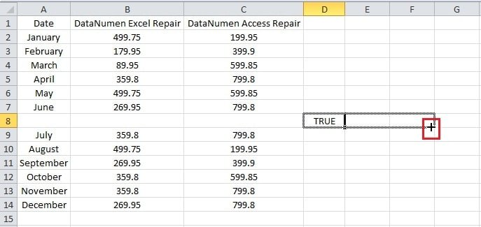 how to search for empty cells in excel