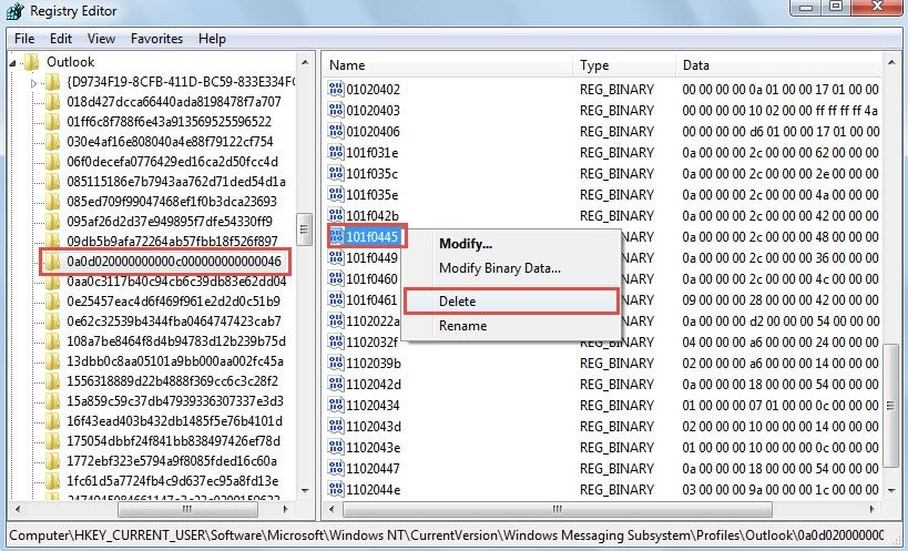 how to delete searches on hotmail