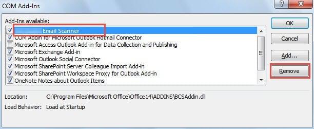 Disable virus scanner integrations