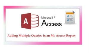 merge multiple access reports into one pdf