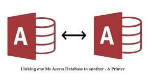 Linking One MS Access Database To Another