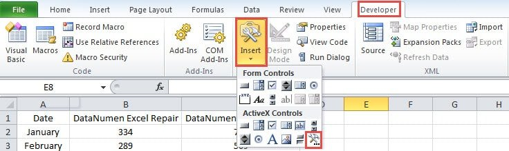 2 Effective Methods to Embed Videos into Your Excel Worksheet - Data