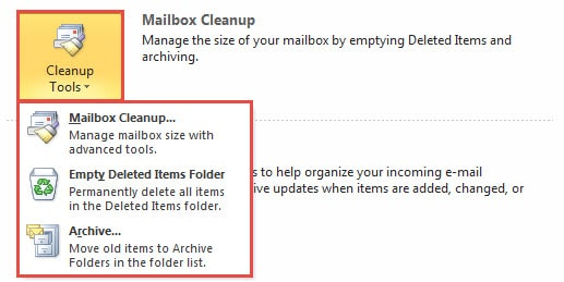 Mailbox Cleanup Tools
