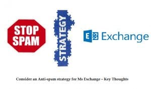 Consider An Antispam Strategy For Ms Exchange