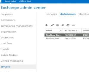 Exchange Mailbox Database