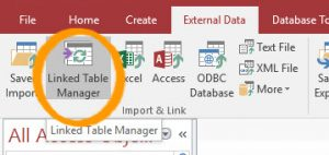 Linked Table Manager