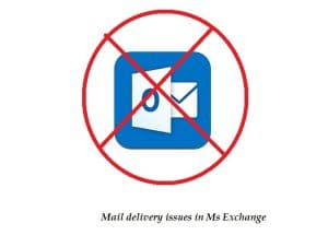 Mail Delivery Issues In Ms Exchange