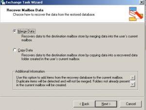 Merge Data To Target Mailboxes