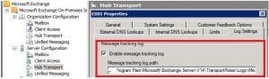 Message Tracking Log