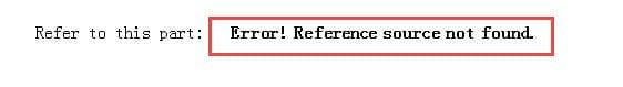 Reference error