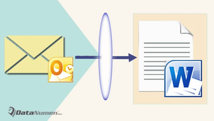 Convert an Email to a Word Document