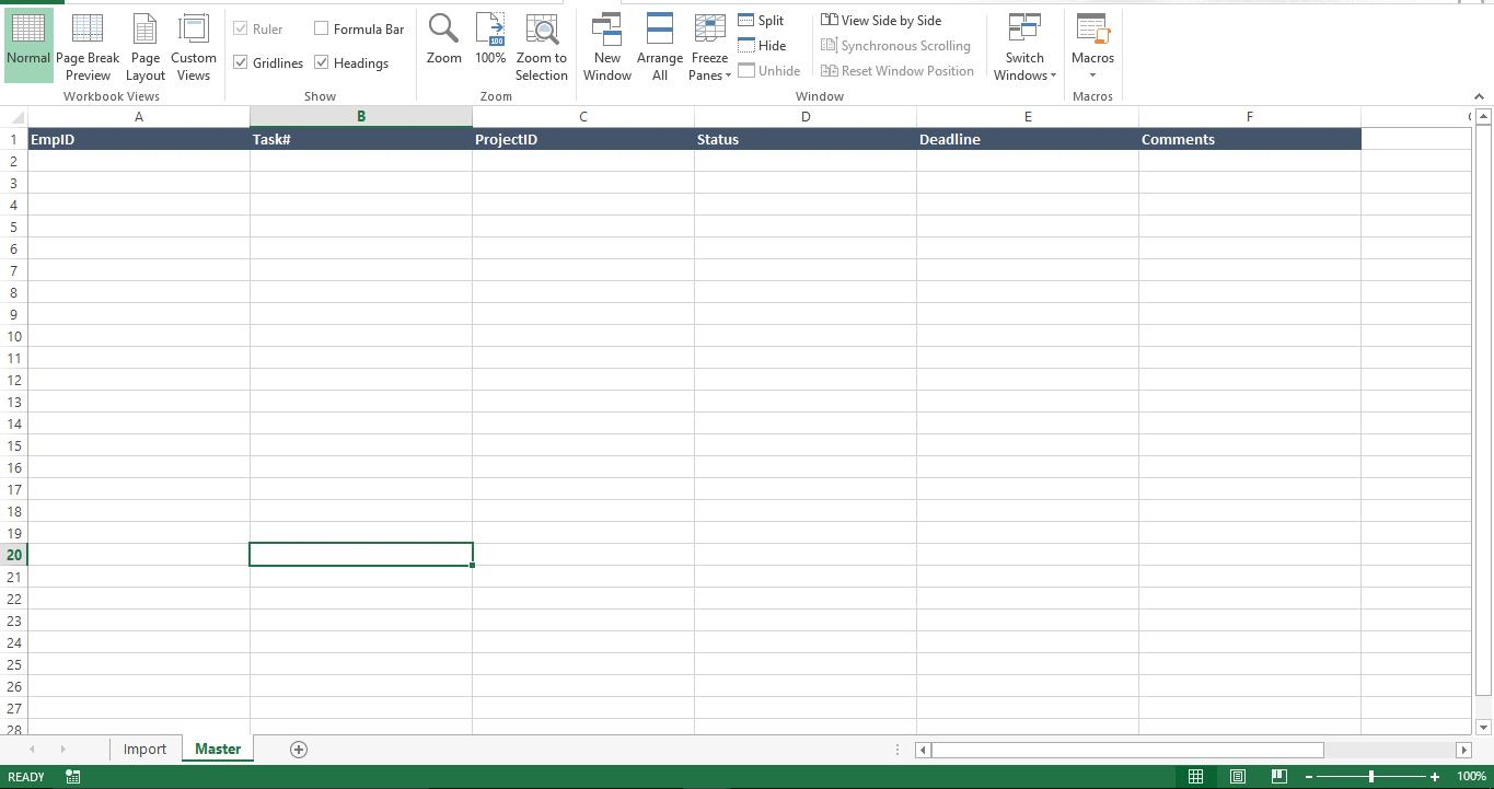 How To Import And Manage Multiple Excel Files From A Master File