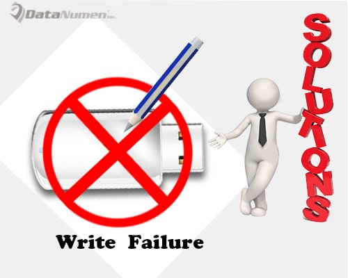 Solutions to Write Failure on a USB Flash Drive