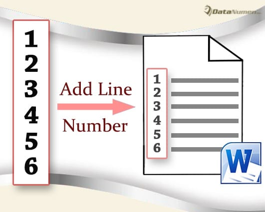 Add Line Numbers and Set Their Formatting