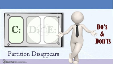 7 Do's and Don'ts If A Hard Drive Partition Disappears