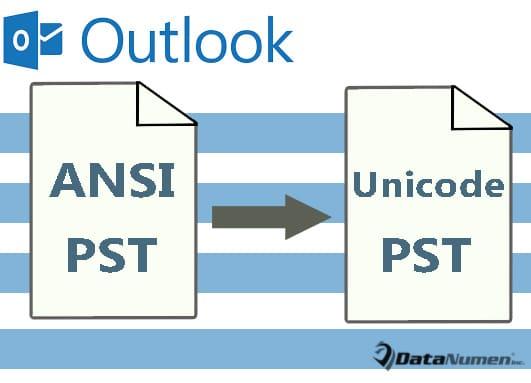 Convert ANSI PST to Unicode PST File via Outlook VBA