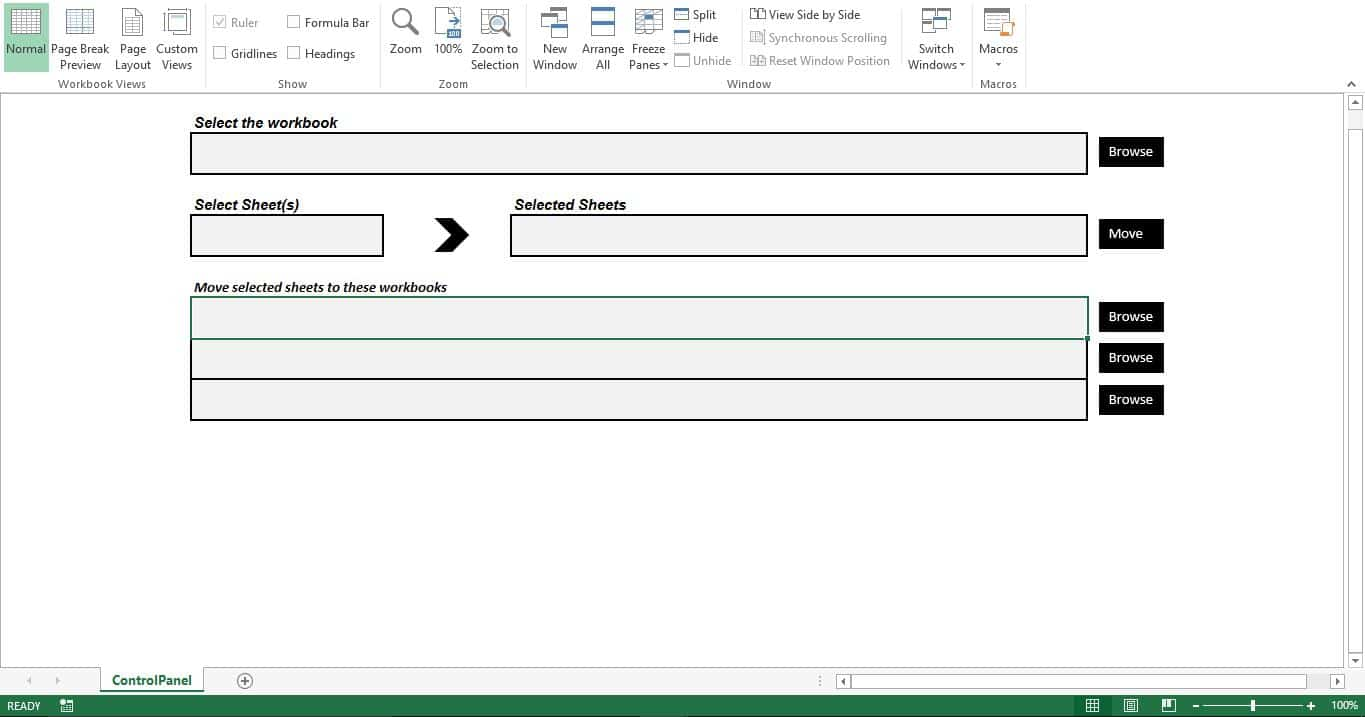 How to Easily Move Worksheets from One Workbook to Another with ...