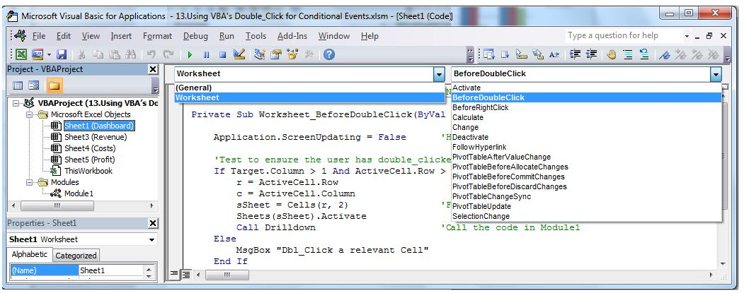 How to Utilize Conditional Events to Present Data in Different ...
