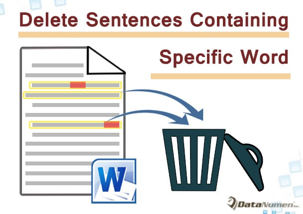 Find or Delete Sentences Containing Specific Text