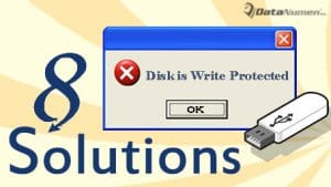 """""""The disk is write protected"""" Error"""