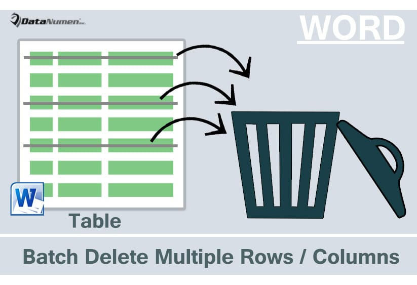 5 Quick Methods To Batch Delete Multiple Rows Or Columns In Your